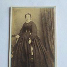 Fotografía antigua: FOTOGRAFÍA, CARTA DE VISITA, J. PALMEIRO E HIJOS. SANTIAGO DE COMPOSTELA, S. XIX. GALICIA. Lote 186124133