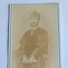 Fotografía antigua: FOTOGRAFÍA, CARTA DE VISITA. J. SUÁREZ. MADRID S. XIX.. Lote 186133063