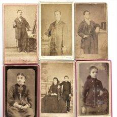 Fotografía antigua: LOTE 12 CARTE DE VISITE FRANCESAS PRINCIPIOS SIGLO XX VARIOS FOTÓGRAFOS. Lote 187376057