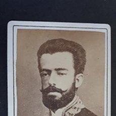Fotografía antigua: FOTOGRAFIA TARJETA CARTA DE VISITA FOTO AMADEO DE SABOYA ,TV2704. Lote 190149927
