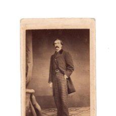 Fotografía antigua: CARTES DE VISITE. ESTUDIO FOTOGRÁFICO. ANGEL ALONSO MARTINEZ Y HERMANO. MADRID.. Lote 190279448