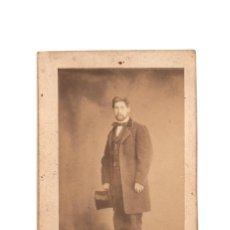 Fotografía antigua: CARTES DE VISITE. ESTUDIO FOTOGRÁFICO. J. LAURENT. MADRID.. Lote 190279773