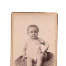 Fotografía antigua: CARTE DE VISITE. ESTUDIO FOTOGRÁFICO. J.E.PUIG. BARCELONA.. Lote 190282498