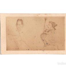 Fotografía antigua: CARTE DE VISITE. CARICATURA. . Lote 190292093