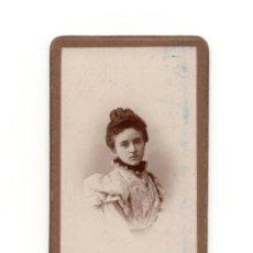 Fotografía antigua: CARTE DE VISITE. ESTUDIO FOTOGRÁFICO. COMPAÑY.. Lote 190292407