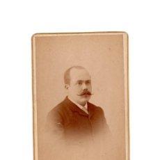 Fotografía antigua: CARTE DE VISITE. ESTUDIO FOTOGRÁFICO. J.ASTRAY. MADRID.. Lote 190363315