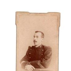 Fotografía antigua: CARTE DE VISITE. ESTUDIO FOTOGRÁFICO. VIDAL Y ARBONA. CEUTA.. Lote 190364332