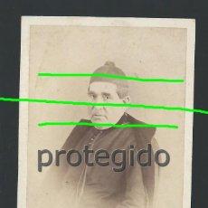 Fotografía antigua: CDV. D. JOSÉ ESCORIHUELA. SIGLO XIX. FOTÓGRAFO M. JUDEZ. ZARAGOZA. BDLL. Lote 190821077