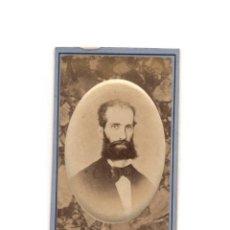 Fotografía antigua: CARTES DE VISITE. ESTUDIO FOTOGRÁFICO. COURBON Y ZENON.SANTANDER.(CABTABRIA).. Lote 190844506