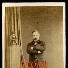 Fotografía antigua: PEDRO CALVO ASENSIO - POLÍTICO - PARTIDO PROGRESISTA - 1860'S - FOTOGRAFIA LAURENT . Lote 191118150