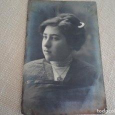 Fotografía antigua: JOVEN . FOTO DE ESTUDIO. FOTÓGRAFO AMADEO. BARCELONA.. Lote 193061718