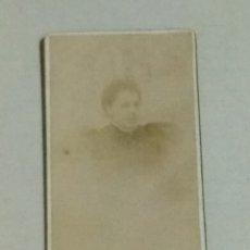 Fotografía antigua: FOTOGRAFÍA CONSTANTINO GRACIA ZARAGOZA SIGLO XIX MUJER. Lote 193379117