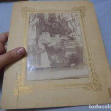 Fotografía antigua: * ANTIGUA FOTOGRAFIA DE LAS CUEVAS DE COVADONGA DE PRINCIPIOS SIGLO XX, ORIGINAL. ZX. Lote 194237363