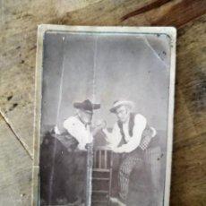 Fotografía antigua: ANTIGUA FOTOGRAFIA GALERIA FOTOGRAFICA BANDOLEROS 1870 CIRCA . Lote 195107771