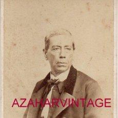 Fotografía antigua: CARTES DE VISITE. ESTUDIO FOTOGRÁFICO. FOTOGRAFÍA. A. ALONSO MARTÍNEZ Y HERMANO. MADRID. Lote 195228186