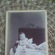 Fotografía antigua: RETRATO DE UNA NIÑA 1871 STRASBOURG. Lote 195410705