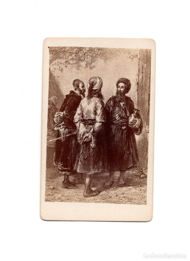 CARTE DE VISITE. PINTURA DE AZE. ARMENIOS. (Fotografía Antigua - Cartes de Visite)