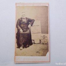 Fotografía antigua: FOTOGRAFÍA ANTIGUA DE MONJE, PARROCO, CURA, RELIGIOSO, ABAD. Lote 268118219