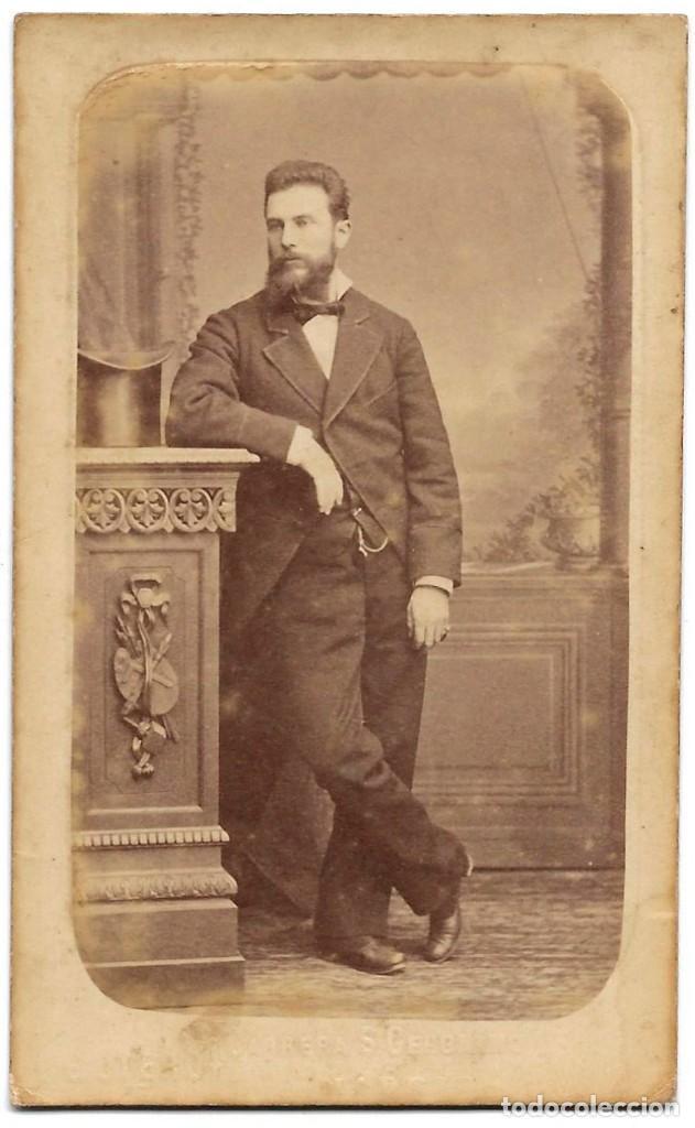 1870 CA FOTOGRAFÍA CARTE DE VISITE ALBUMINA CDV FOTÓGRAFO E. OTERO MADRID (Fotografía Antigua - Cartes de Visite)
