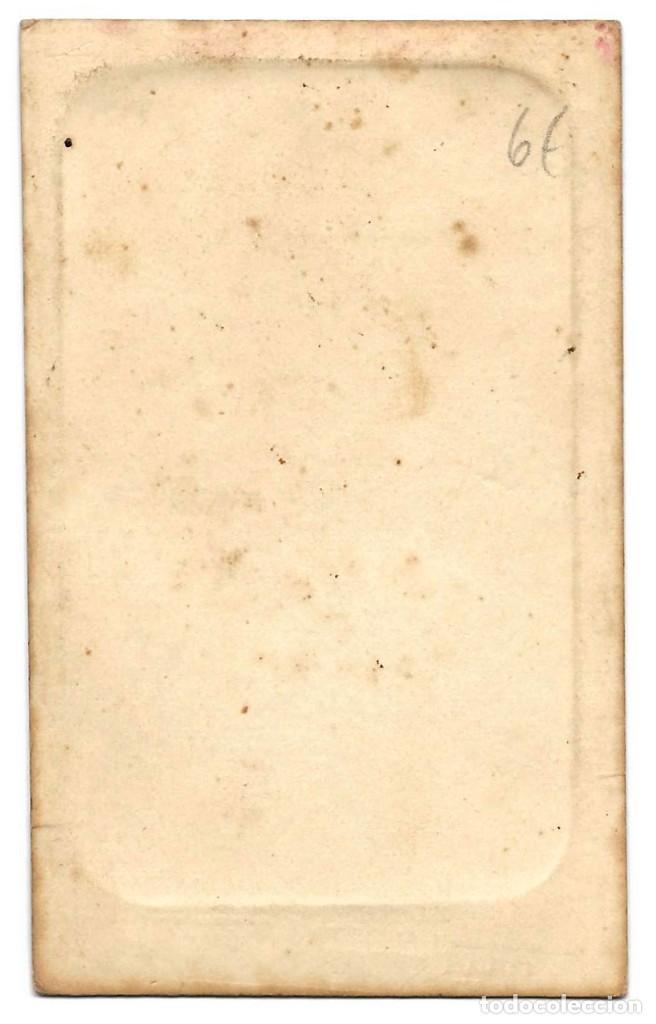 Fotografía antigua: 1870 ca Fotografía carte de visite albumina CDV Fotógrafo E. Otero Madrid - Foto 2 - 201103582
