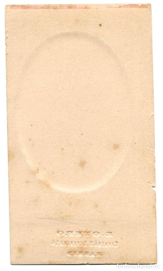 Fotografía antigua: 1872 ca Fotografía carte de visite albumina CDV 60x105mm Fotógrafo E. Otero Madrid - Foto 2 - 201103641