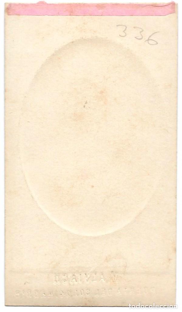 Fotografía antigua: 1871ca Fotografía carte de visite albumina CDV 60x105mm Fotógrafo ALBIACH Madrid. - Foto 2 - 201111317