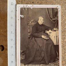 Fotografía antigua: CARTE DE VISITE DUDOUX E HIJO . LOGROÑO .. Lote 202699520
