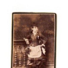 Fotografía antigua: CANTINERA. CRUZ DE SAN FERNANDO Y MARIA ISABEL LUISA. CTV. ESTUDIO FRANCISCO ZAGALA. PONTEVEDRA.. Lote 204069436