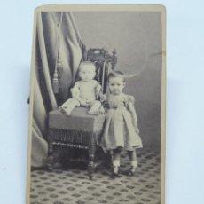 Fotografía antigua: FOTOGRAFIA ALBUMINA TIPO CDV DE MUJERES DE FINALES DE SIGLO XIX, MATANZAS (CUBA), FOTOGRAFO J.H. NOR. Lote 206418280