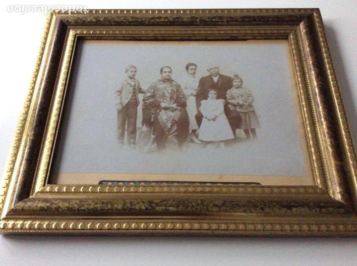 Fotografía antigua: Fotografía Eléctrica siglo XIX Prestigioso fotógrafo V. Novillo con precioso marco de mediados S.XX - Foto 5 - 157239730