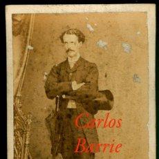 Fotografía antigua: CARLOS BARRIE Y LABROS - 1890 - FOTOGRAFIA LEFEBVRE. Lote 207139490