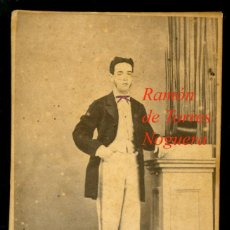 Fotografía antigua: CARTAGENA - 1870'S - RAMÓN DE TORRES Y NOGUERA - FOTOGRAFIA NICOLAS CANDELA. Lote 208587838