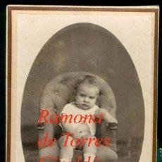 Fotografía antigua: CARTAGENA - 1870'S - RAMÓNA DE TORRES GIRALDES - FOTOGRAFIA VALERO HERMANOS. Lote 208588497