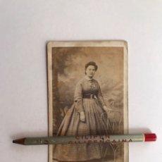Fotografía antigua: MARÍA CHAMBEFORT. FOTÓGRAFA FRANCESA (1818 - 1875) RETRATO DE UNA DAMA DE ROANNE. Lote 209038083