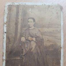 Fotografía antigua: ANTIGUA FOTOGRAFIA CDV JOAQUIN LLOPIS RUIZ DOLORES ALICANTE. Lote 209090145