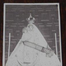 Fotografía antigua: FOTOGRAFIA TIPO ALBUMINA TIPO CDV, VIRGEN POSIBLEMENTE DE JAEN, MIDE 9,5 X 6 CMS.. Lote 210043640