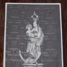 Fotografía antigua: FOTOGRAFIA TIPO ALBUMINA TIPO CDV, VIRGEN POSIBLEMENTE DE JAEN, MIDE 9,5 X 6 CMS.. Lote 210043672