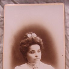 Fotografía antigua: RETRATO HACIA 1900. FOTOGRAFIA UNIVERSAL DE TORRES. TARRAGONA, RAMBLA S. JUAN, 36. REUS, CASTELAR 28. Lote 213332882