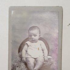 Fotografía antigua: CARTA DE VISITA FOTOGRAFIA SEGUI MAHON. EN BUEN ESTADO. Lote 214863642