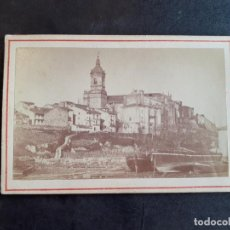 Fotografía antigua: FUENTERRABIA GUIPUZCOA VISTA CARTE DE VISITE SIGLO XIX. Lote 217239576