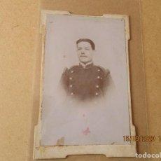 Fotografía antigua: FOTOGRAFIA DE MILITAR DE LA COMPAÑIA 47.. Lote 217816646