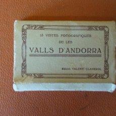 Fotografía antigua: 15 VISTES FOTOGRAFIQUES DE LES VALLS D'ANDORRA. EDICIÓ: VALENTÍ CLAVEROL.. Lote 218573080