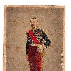Fotografía antigua: CARTE DE VISITE MILITAR COLOREADA. PHOTO MAYER & PIERSON. PARIS. Lote 220844952