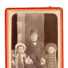 Fotografía antigua: CARTE DE VISITE ARTHUR LAIE. BORDEAUX. Lote 220847518