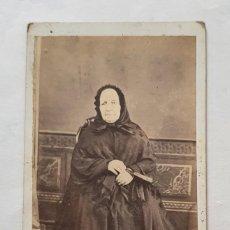 Fotografía antigua: CARTA DE VISITA FOTOGRAFIA FERRIOL Y CIA. PALAFRUGELL EN BUEN ESTADO. Lote 221839956