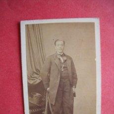 Fotografía antigua: PIERRE PETIT.-FOTOGRAFO.-CARTE DE VISITE.-ALBUMINA.-FOTOGRAFIA.-ANDRES ALBERT.-PARIS.-FINALES S. XIX. Lote 224095283