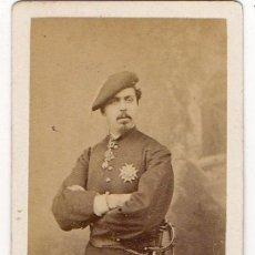 Photographie ancienne: CARLOS VII. DON CARLOS DE BORBON. PRETENDIENTE CARLISTA. LE JEUNE. PARIS. CARLISMO. Lote 224752586