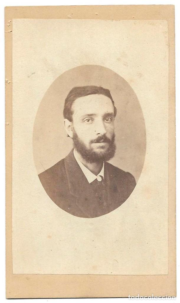 1870'S CARTE DE VISITE ALBUMINA CDV FOTOGRAFÍA POPULAR, CHAMBERI, MADRID (Fotografía Antigua - Cartes de Visite)