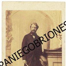 Fotografía antigua: CDV LUIS DE ORLEANS (LOUIS D'ORLEANS) , DUQUE NEMOURS - DUC DE NEMOURS. Lote 55084899