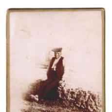 Fotografía antigua: UN PAGÉS DE REUS DE FINALS DEL SEGLE XIX - FOTO TORRES (REUS) - 123X79 - ÚNICA EN TODOCOLECCIÓN. Lote 244664245